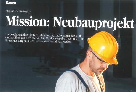 Mission: Neubauprojekt